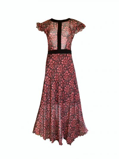 lace gown dress